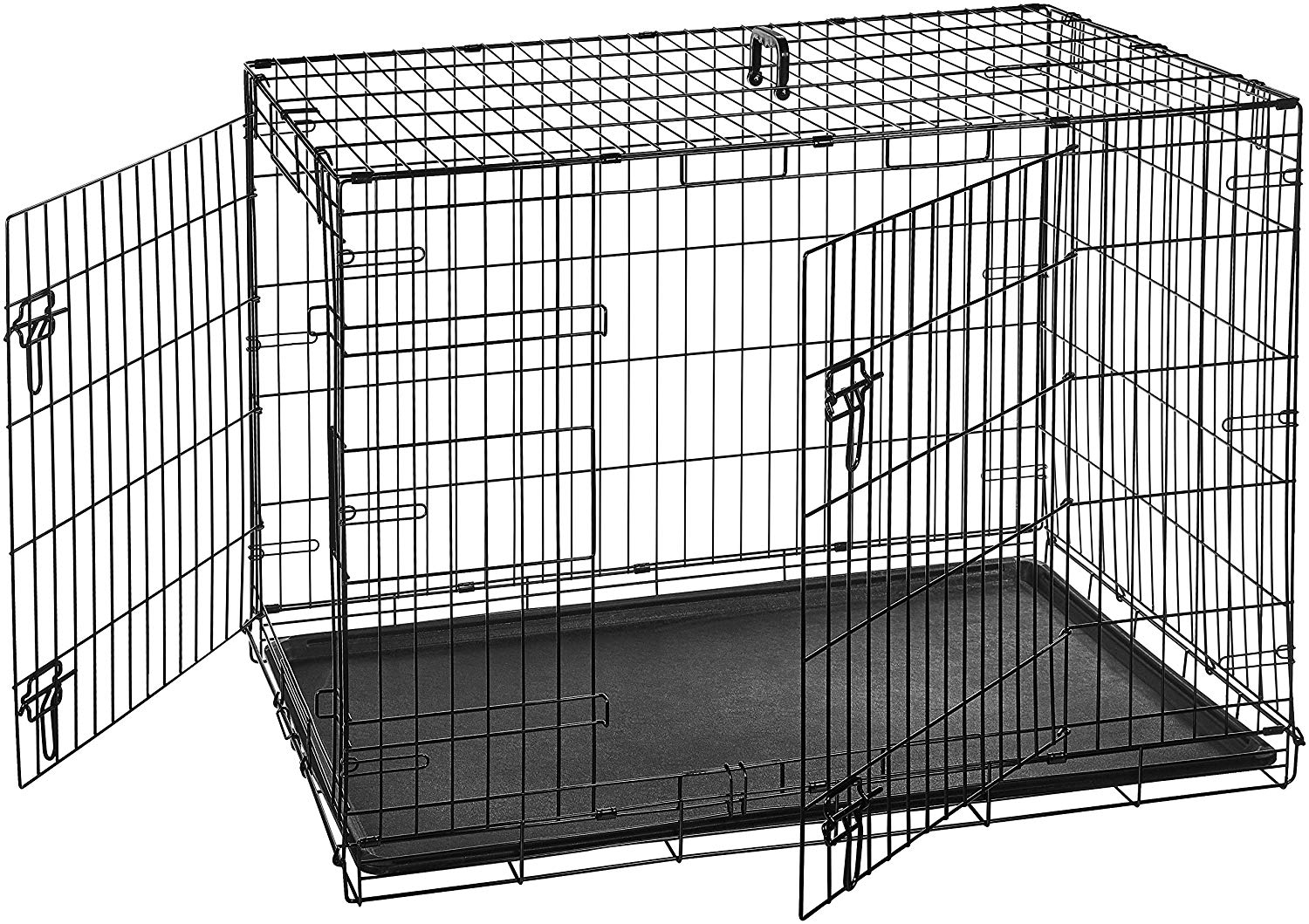 Amazon-Basics-Folding-Metal-Dog-Crate